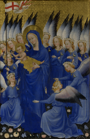 1395–99 Wilton_diptych;_right-hand_panel
