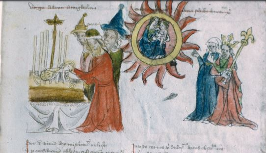 1400-10 Nuremberg, Germanisches Nationalmuseum, Hs. 22401, fol. 11r