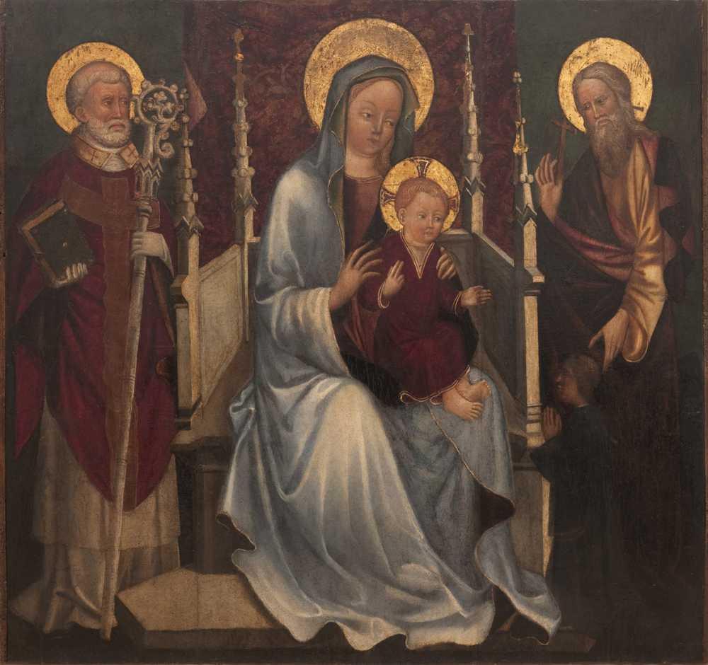 1400-50 Sacristie eglise de San Lorenzo Vicence