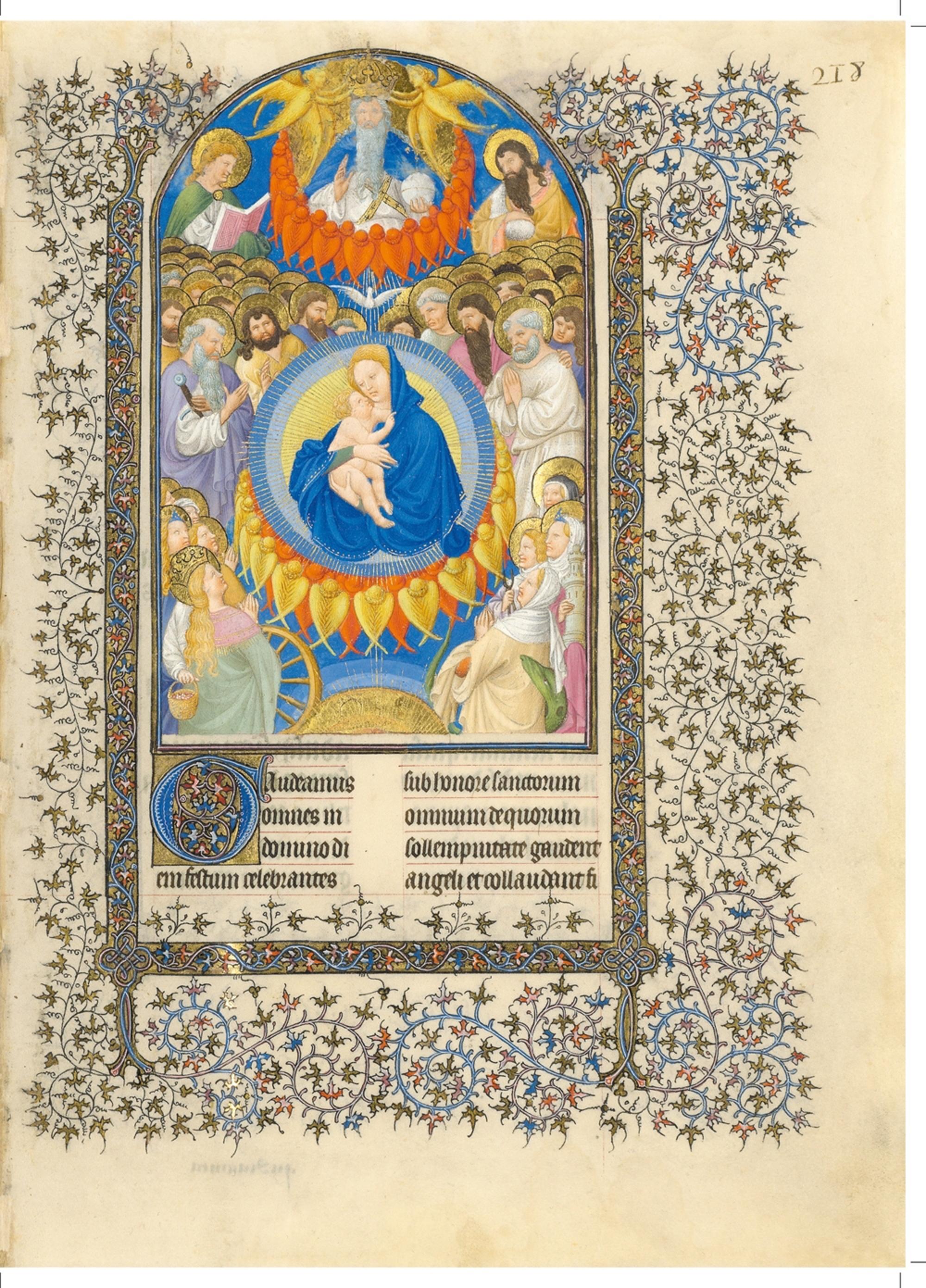 1405-09 Belles Heures of Jean de Berry- Fol218