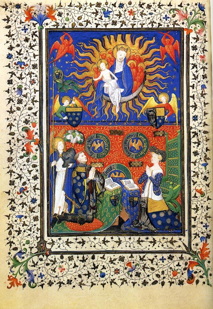 1405-12 Marechal de Boucicaut et Antoinette de Turenne Musee Jacquemart-Andre Paris MJAP-Ms 1311 f26v