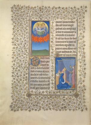 1406-09 Freres Limbourg, , MET, 54.1.1 fol 91v