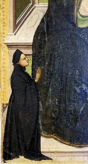 1410-20 Lippo_d'andrea_madonna_col_bambino,_donatori_e_santi Museo San Pietro (Colle di Val d'Elsa) gauche