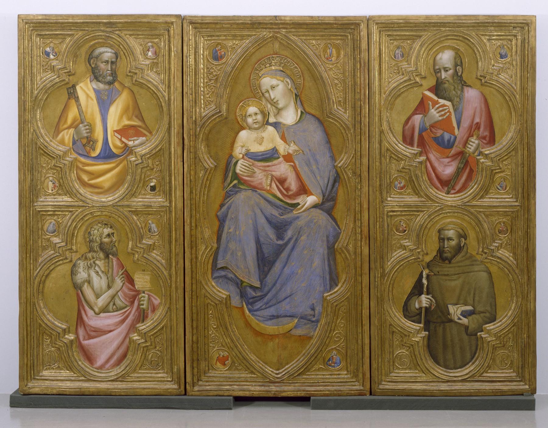 1410-20 Olivuccio di Ciccarello da Camerino Walters Arts Gallery Baltimore