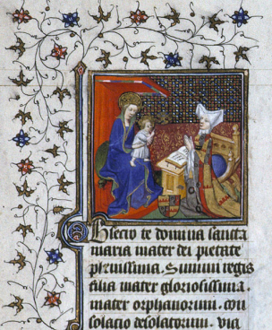 1410 Jeanne de La Tour Landry Lyon, BM, 574