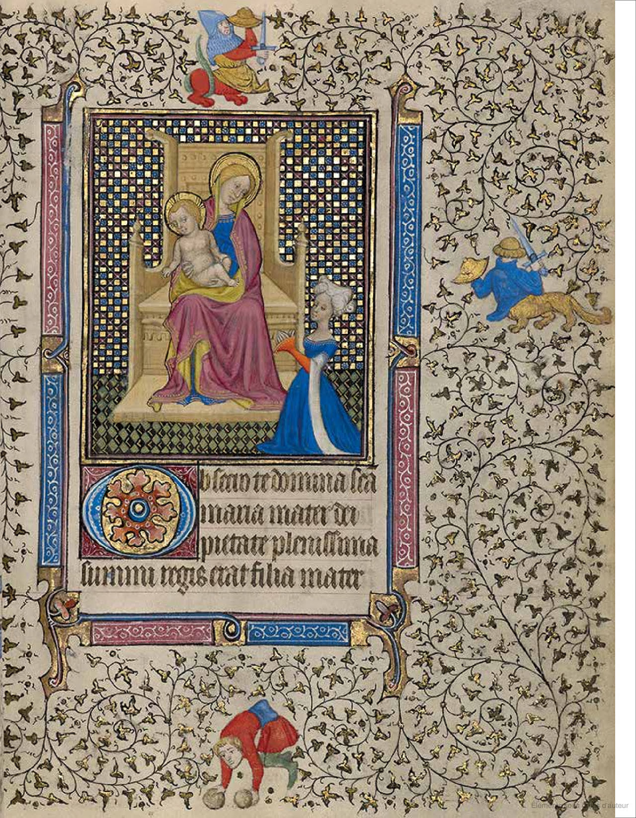 1410 ca Follower of the Egerton Master Paris Getty Museum Ms. Ludwig IX 5, fol. 19