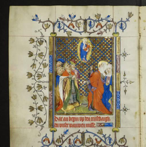 1415 Livre d'Heures de Marie de Gueldre Staatsbibliothek Berlin MS GERM QUARTO 42 fol 50v
