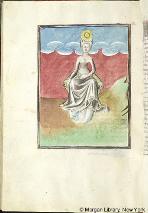 1415 ca Morgan MS M.133 fol. 65v La Grande Prostituee