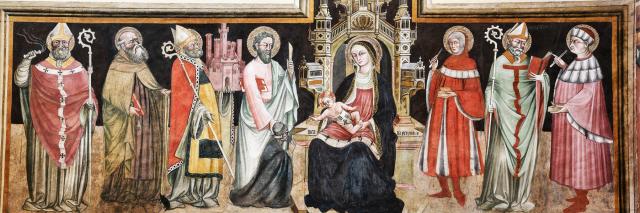 1417 Luca da Perugia Cappella Pepoli basilica san petronio Bologne