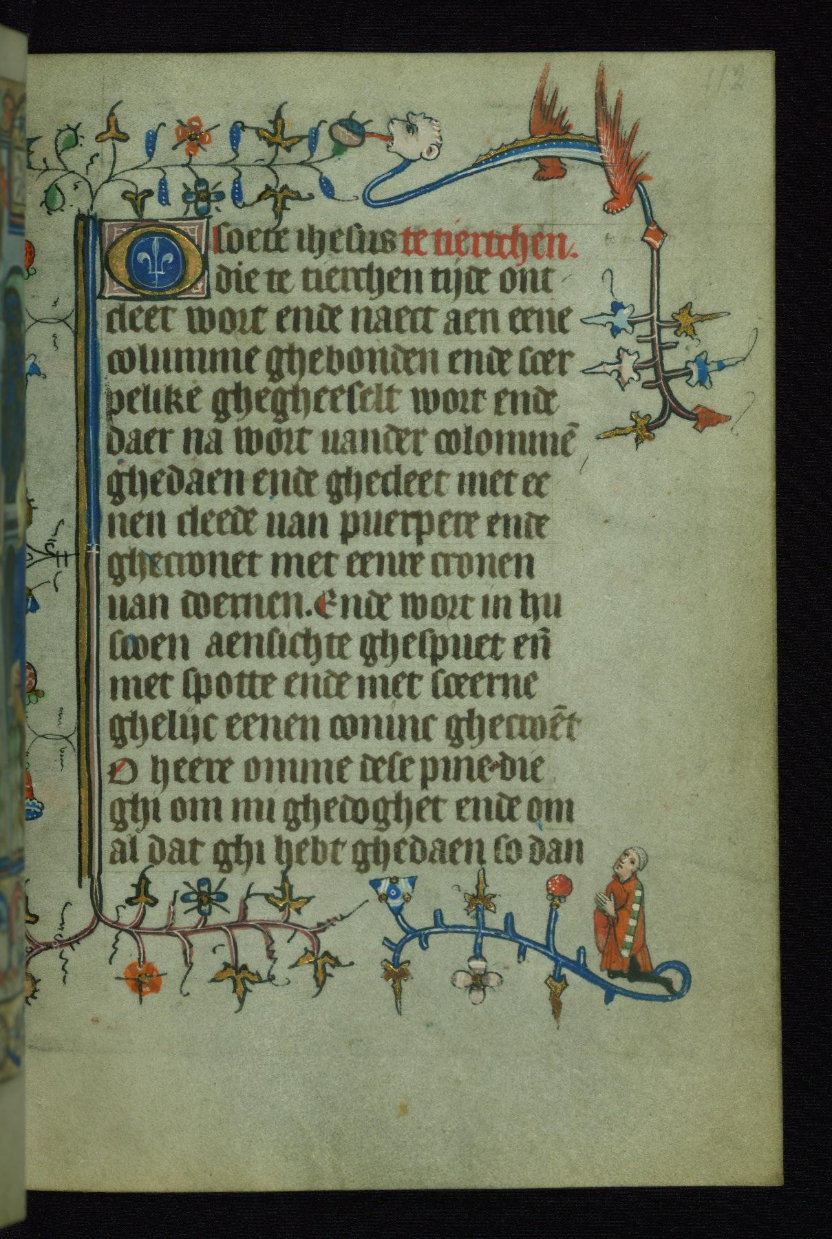 1420‒30 Book of Hours of Daniel RymWalters Ms. W.166 fol 112r