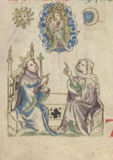 1420-30 Heidelberg, Universitatsbibliothek Pal. germ. 432, fol. 12v