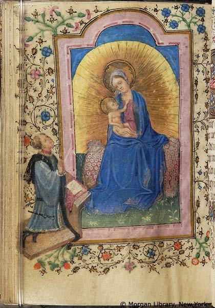 1420 ca Book of Hours Flandres Morgan MS M.76 fol. 195v