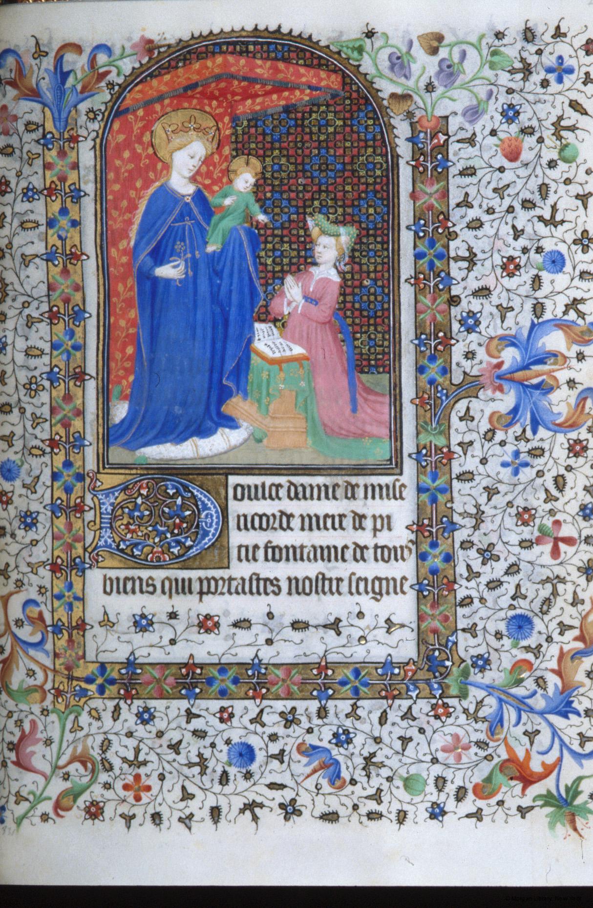 1420 ca Heures France Morgan MS M.1000 fol. 230r
