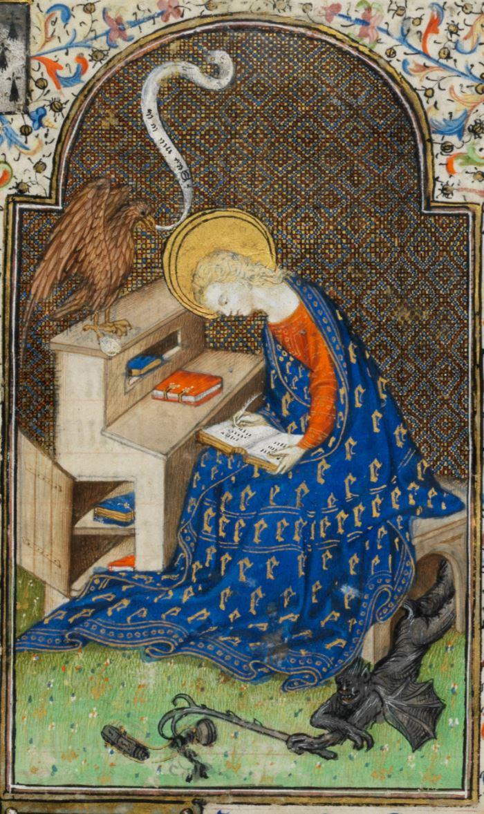 1431 ca Maitre de Rohan, Heures d'Isabella Stuart, Fitzwilliam Museum,Ms. 62 fol 13r
