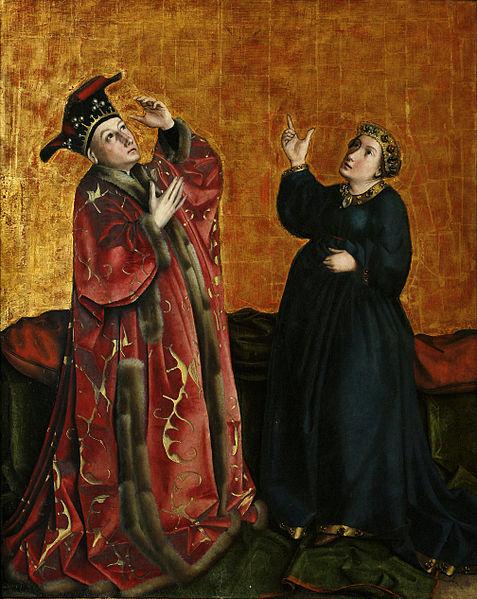 1435 konrad Witz retable du Miroir du Salut Musee des BA Dijon