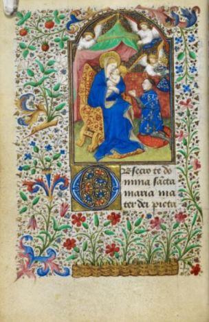 1436-1450 Livre d'heures de Jean de Dunois (British Library YatesThompson3 f22v