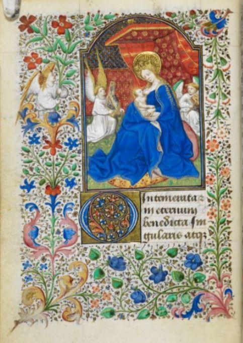 1436-1450 Livre d'heures de Jean de Dunois (British Library YatesThompson3 f27v._Intementam