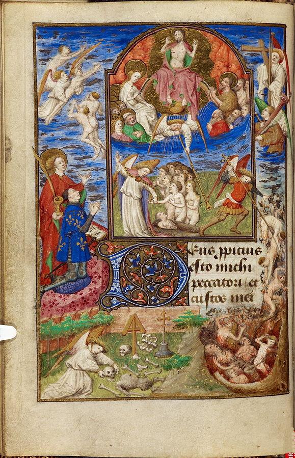 1436-1450 Livre d'heures de Jean de Dunois (British Library YatesThompson3 f32v._Jugement_dernier