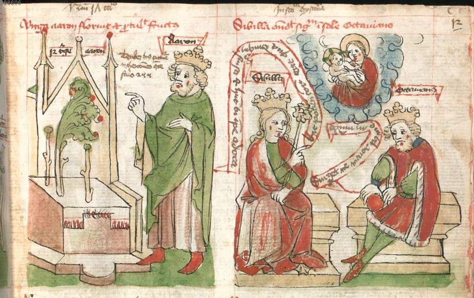 1440-66 Munich, Bayerische Staatsbibliothek, Cgm 3974, fol. 12r