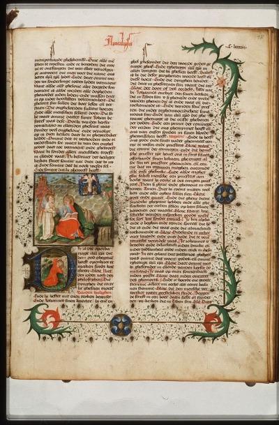 1443 Utrecht Lectionnary Den Haag KB 69.B10 patmos