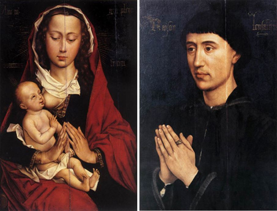 1445-60 Rogier_van_der_Weyden_diptyque froimont