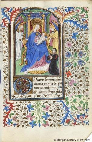 1445 ca Book of Hours Northern France or Flanders, Morgan M.287 fol. 21r