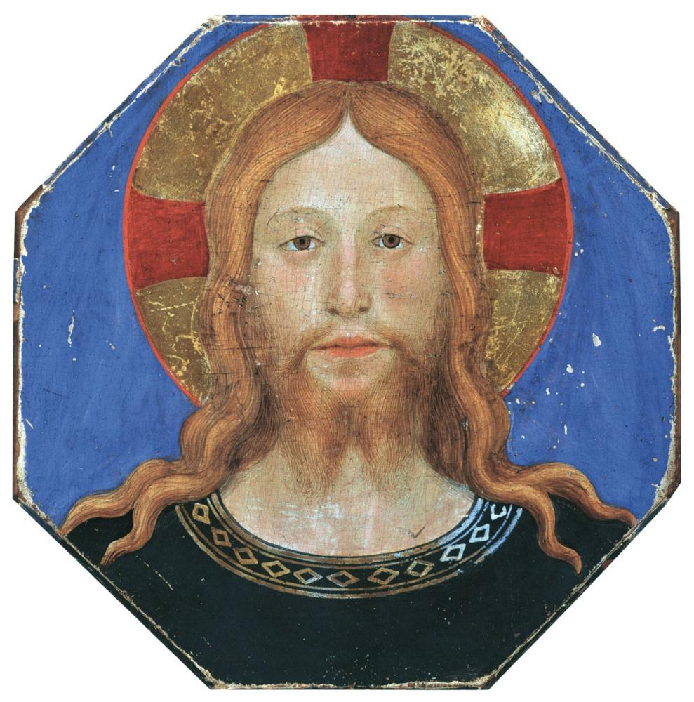 1446–49 Fra Angelico Tete de Christ