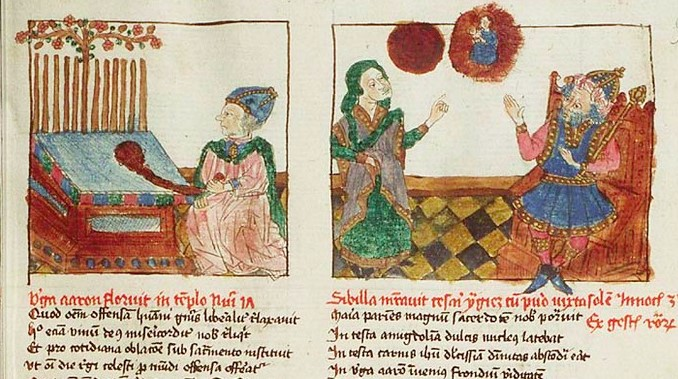 1450 Speculum humanae salvationis Museum Meermanno Westreenianum Den Haag, MMW, 10 B 34