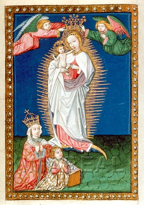 1459-69 Gebetbuch fur Kaiserin Eleonore Osterreichische Nationalbibliothek cod. 1942 fol. 82v
