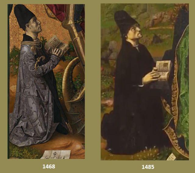 1468 1485 Bermejo Bartolome Comparaison donateurs