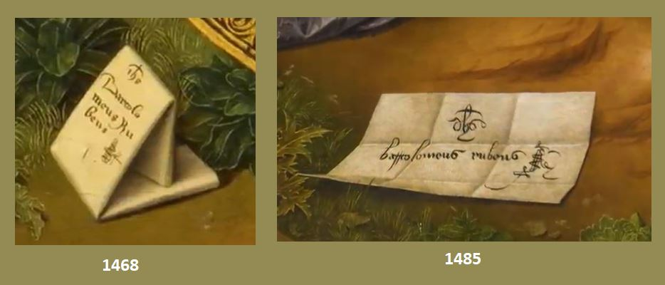 1468 1485 Bermejo Bartolome Comparaison signatures