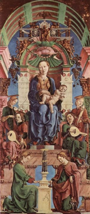 1470-74 Cosme Turra Polittico Roverella panneau central