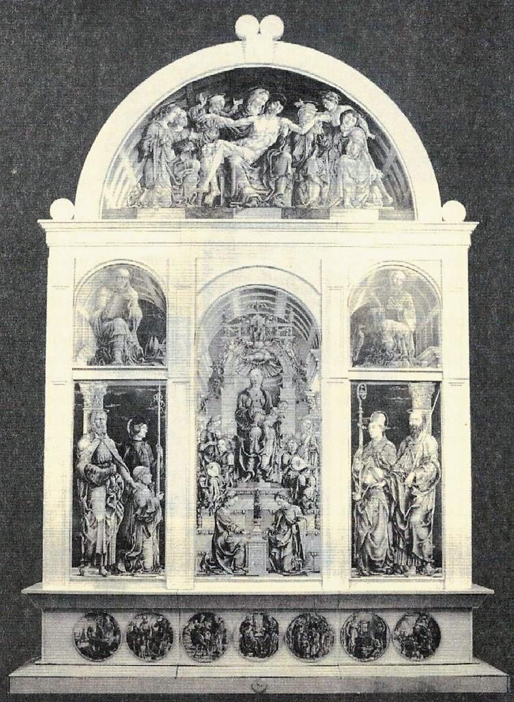 1470-74 Cosme Turra Polittico Roverella reconstruction Maurizio Bonora (2007)