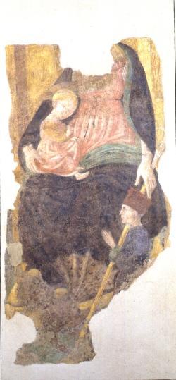 1470 ca Donateur et demon Museo di San Domenico Imola