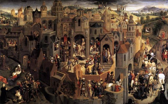1470 ca memling-scenes-de-la-passion-du-christ Galleria Sabauda Turin