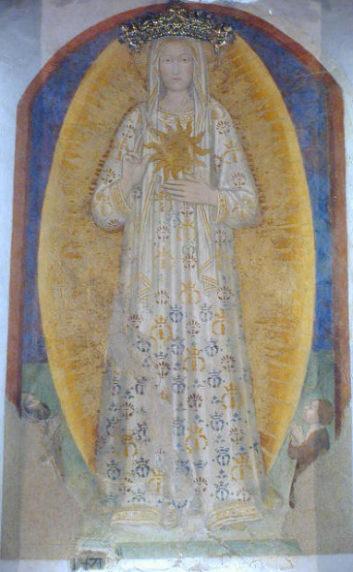 1471 Andrea di Bartolo Madonna del Sole, Belvedere Ostrense, Ancona