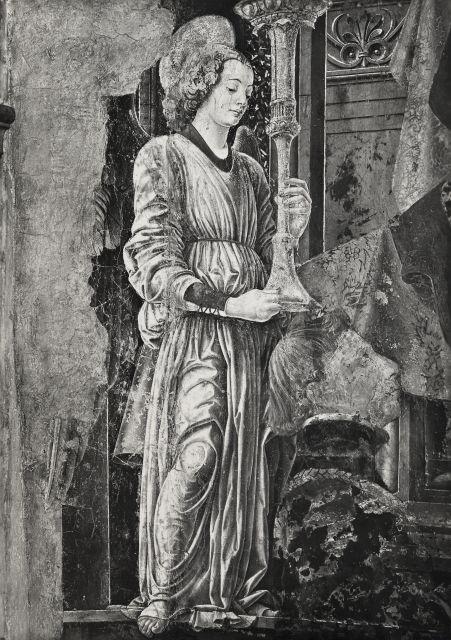 1472 francesco-cossa-madonna-del-baraccano chiesa del baraccano Bologne detail