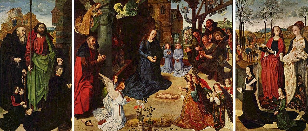 1475 Hugo_van_der_Goes Triptyque Portinari Offices Florence