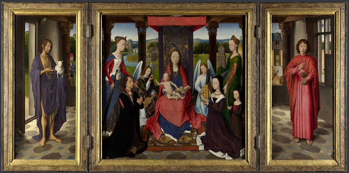 1478 Memling_-_Donne_Triptych_-_National_Gallery_London
