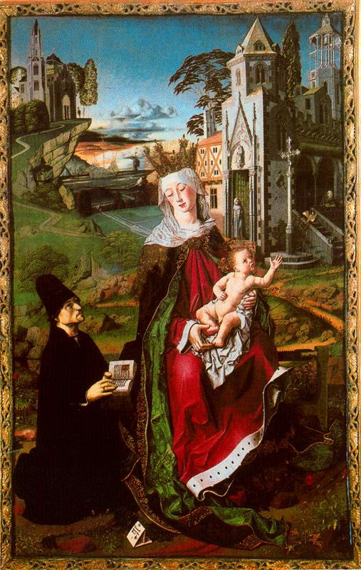 1485 ca Bermejo Bartolome Madonna di Montserrat e Gesu Bambino cattedrale di Santa Maria Assunta, Acqui Terme