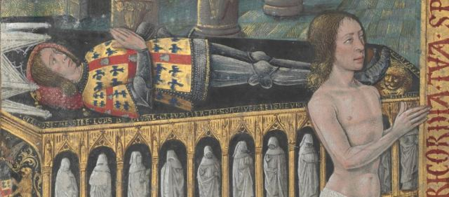 1486 Horae_ad_usum_romanum Louis de Laval BNF Latin 920 fol 334v detail