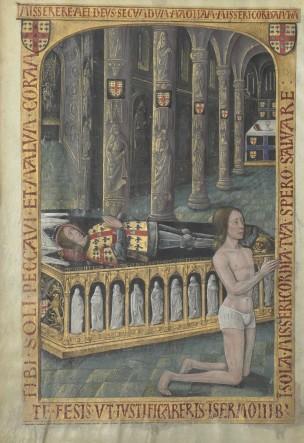 1486 Horae_ad_usum_romanum Louis de Laval BNF Latin 920 fol 334v