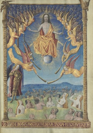 1486 Horae_ad_usum_romanum Louis de Laval BNF Latin 920 fol 335r