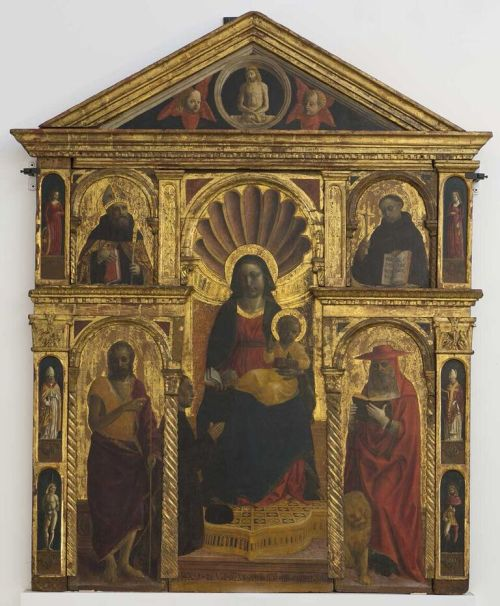 1489 Foppa donateur Manfredo Fornari Pinacoteca Savona