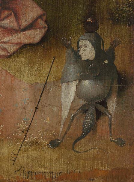 1490-95 Bosch Saint_John_on_Patmos_Berlin,_Staatlichen_Museen_zu_Berlin,_Gemaldegalerie_HR detail arbre