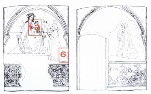 1495-1500 Giorgio di Challant Priorato di sant'orso-aosta annonciation