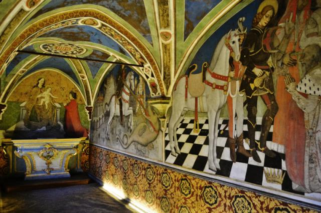 1495-1500 Giorgio di Challant Priorato di sant'orso-aosta