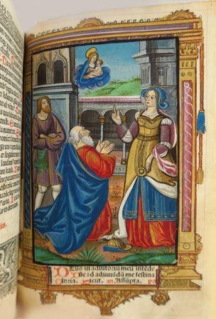 1495 Heures a L'usage de Rome Fol. 58r Nicolas Higman pour Simon Vostre,coll privee