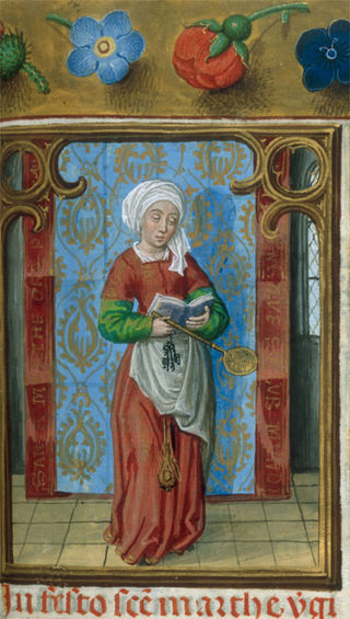 1497 Isabella breviary Ste Marthe BL Ms. 18851