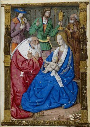 1500-05 Maitre des Triomphes de Petrarque Petites Heures d'Anne de Bretagne Gallica BNF NAL 3027 fol 32r
